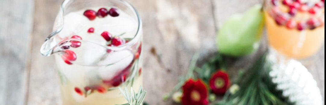 How to make iced cranberry white tea