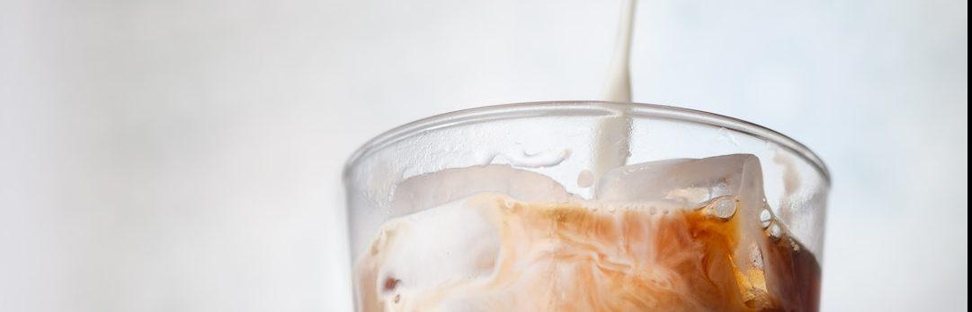 How to make almond milk tea