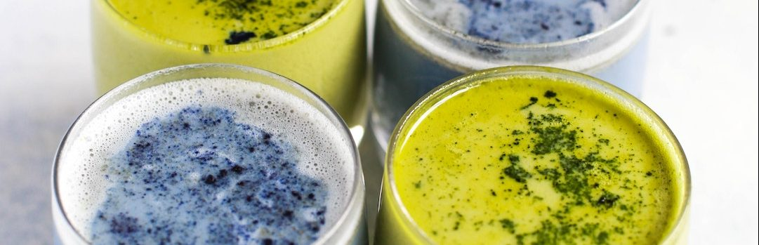 What is blue matcha